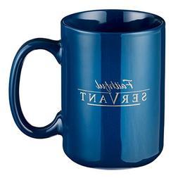 Mug - Be Strong Faithful Servant, Navy Blue