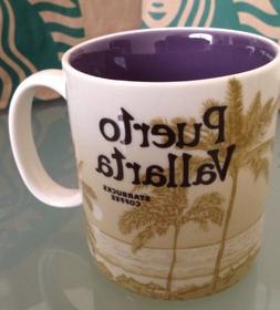 New Starbucks Mug Puerto Vallarta City Mexico 2012 16 Fl Oz