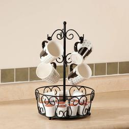 Mug Tree Rack Coffee K-Cup POD Tea Cup Holder Stand Organize