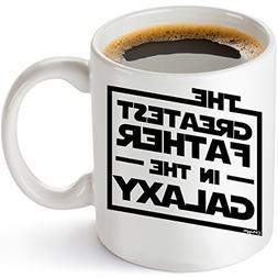 Muggies Greatest Father In The Galaxy 11oz. Coffee Tea Mug.