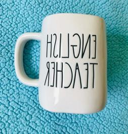 """rae dunn mugs """"English Teacher """""""