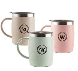 Mugs Stainless Steel Coffee Insulation Cup With Lid Office C