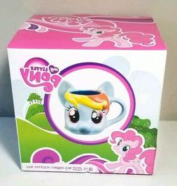 My Little Pony Rainbow Dash Sculpted Ceramic Mug Cup MLP VAN