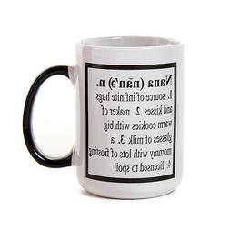 Nana Coffee Mug by Tumbleweed, 16 ounces, gift for grandmoth