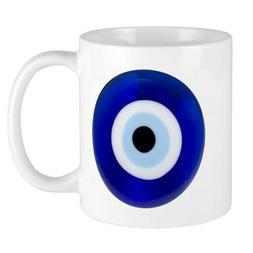 CafePress Nazar Amulet Evil Eye Protection Mugs 11 oz Cerami