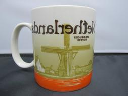 Starbucks Netherlands global Icon Series Coffee Tea MUG