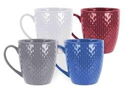 Home Basics NEW 20 oz Jumbo Textured Crochet Multi Color Opt