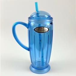 NEW 2001 Starbucks Rocket Tumbler Ice Cold Coffee Mug Cup St
