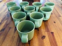 New 2009 Crate Barrel Hoganas Keramik NILLSON Coffee Cups /