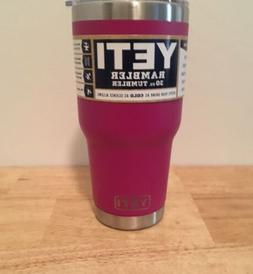 New Yeti 30oz PURPLE Tumbler Rambler coffee mug DuraCoat Cup