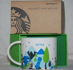 NEW Aspen Colorado Starbucks You Are Here Collection Coffee
