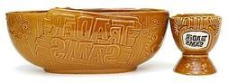 New Disney Parks Polynesian Trader Sam's Chip & Dip Punch Bo
