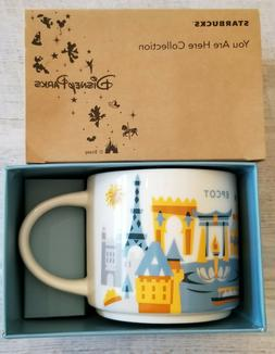 NEW Disney World Parks Starbucks EPCOT YOU ARE HERE Coffee T