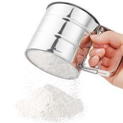 New Flour Sieve <font><b>Mugs</b></font> Design Flour Sifter