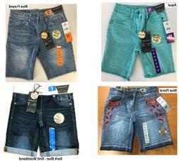 NEW! Girls Vigoss Bermuda Stretch Denim Shorts Short, Choose