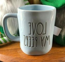 new green love my peeps easter mug