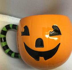 16 oz. New Hallmark Halloween Jack-O-Lantern Mug Happy Pumpk