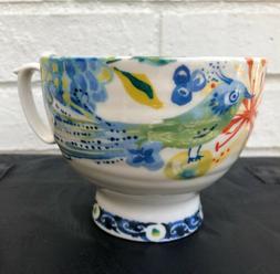 New Anthropologie Home Kitchen Garden Blue Bird Cup mug