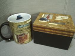 NEW in gift box THE ESSENTIALS collectible ceramic mug ~~ LA