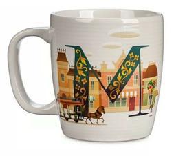 *NEW Disney Parks M Is For MAIN STREET Ceramic Coffee Mug AB