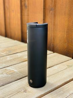 NEW Starbucks Matte Black Stainless Steel Vacuum Insulated C