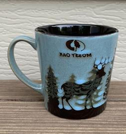NEW Mossy Oak 16oz Deer Lodge Life Woods Coffee Mug Ceramic