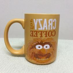 NEW NWT MUPPETS ANIMAL CRAZY FOR COFFEE MORE MORE MORE MUG H