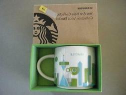 "NEW Starbucks SEATTLE YAH  2013 Mug 14 oz ""You Are Here"""