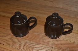 NEW Set of 2 Teavana Mugs with Lids and Infuser Strainers 6