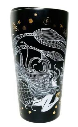 NEW Starbucks Coffee Siren Mermaid 2019 12 oz travel mug cer