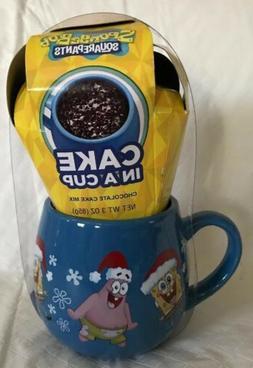 New SPONGEBOB SQUAREPANTS Cake In a Cup CHOCOLATE Holiday Gi