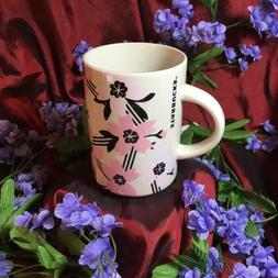 NEW Starbucks Spring Mug Ceramic 12oz Cherry Blossom Floral