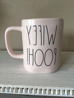"New RAE DUNN Valentines Day LL ""WIFEY POOH!"" Pink Mug By Mag"