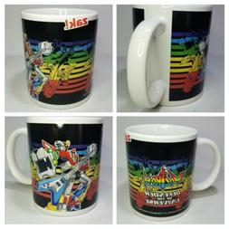 Zak! Designs Ceramic Coffee Mug with Voltron Graphics, 11.5
