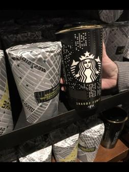 STARBUCKS NEW YORK NYC TIMES SQUARE DOUBLE WALL TRAVELER Cer