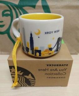 Starbucks NEW YORK You Are Here Collection ORNAMENT  DEMI Mu
