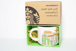 NEW  Starbucks - You Are Here - Arizona - Ornament Mug - 2 o