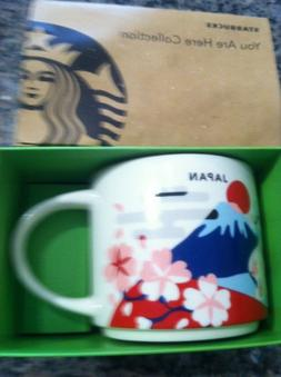 NEW Starbucks You Are Here Collection Mug Cup 14oz JAPAN Mt.