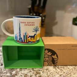 New Starbucks You Are Here Collector Mug United Arab Emirate