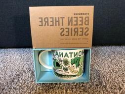 "NIB Starbucks ""Been There"" Series Collection Montana 14"