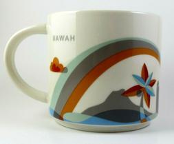 NIB STARBUCKS YOU ARE HERE MUG- HAWAII