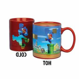 Nintendo Super Mario Brothers Heat Changing Mug, 5 X 4 X 3 i