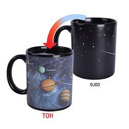 Novelty Magic Morning Coffee Mug 12 oz Color Changing Heat S