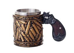 Pacific Giftware Novelty Pistol Handle with Bullet Casings C