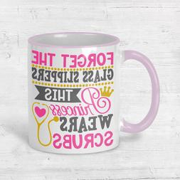 Nurse Mug Graduation Practitioner Gift Coffee Cup Pink Handl
