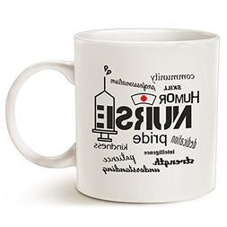 Inspirational Nurse Pride-Attributes Coffee Mug, Best Christ