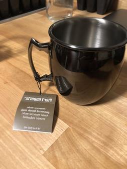 NWT Pier 1 Imports Moscow Mule Mug Gunmetal Copper & Metal C