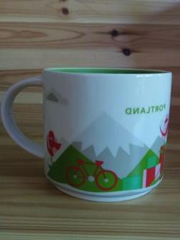 NWT Starbucks Portland Oregon Mug You Are Here YAH Collectio