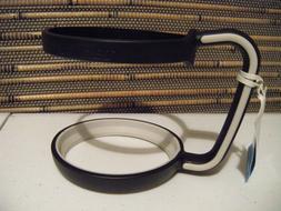 NWT Tervis Tumbler Handle Fits 24 oz Black/White Travel Mug