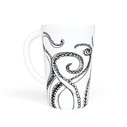 OCTOPUS TENTACLES - Large 16 oz. Novelty Ceramic Mug - Large